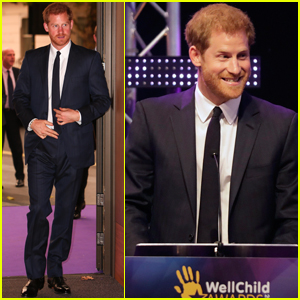 Prince Harry Celebrates Inspiring Sick Children & Their Caregivers!