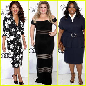 Priyanka Chopra, Kelly Clarkson & Octavia Spencer Get Honored at Variety Power of Women Luncheon
