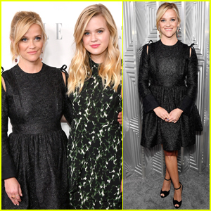 Reese Witherspoon & Lookalike Daughter Ava Celebrate Elle's Women in Hollywood
