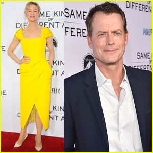 Renee Zellweger is Pretty in Yellow at 'Same Kind of Different as Me' Premiere