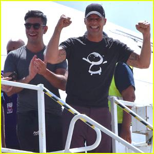 Ricky Martin & Fiance Jwan Yosef Arrive in Puerto Rico to Help Hurricane Maria Victims
