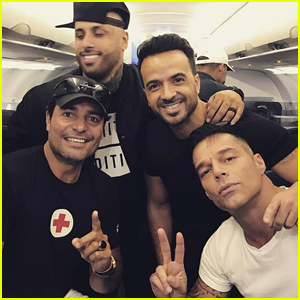 Ricky Martin Arrives in Puerto Rico to Aid With Relief Efforts