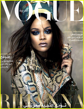 Rihanna Pays Homage to Queen Nefertiti on 'Vogue Arabia' Covers!