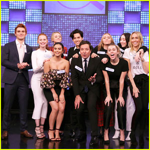 'Riverdale' Cast & Miley Cyrus Family Face Off in Hilarious 'Tonight Show' Game Show - Watch Here!