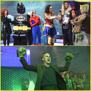 Robin Roberts, Michael Strahanon & 'GMA' Hosts Turn Into Superheroes for Halloween!