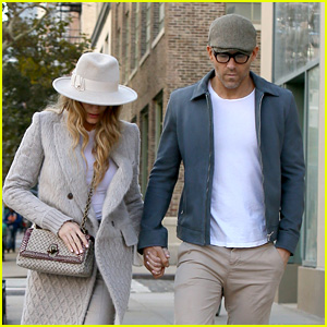 Ryan Reynolds & Blake Lively Hold Hands While Walking in NYC!