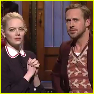 Ryan Gosling & Emma Stone Reveal How They Saved Jazz on 'SNL' - Watch!