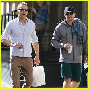 Ryan Reynolds & Jake Gyllenhaal Are Friendship Goals in NYC