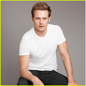 Sam Heughan Comments on Girlfriend MacKenzie Mauzy Dealing with Internet Trolls