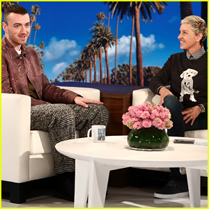 Sam Smith Confirms He's Not Single on 'Ellen Show' (Video)