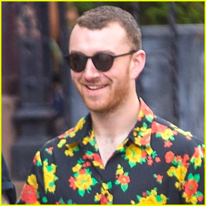 Sam Smith Hangs Out with Friends Ahead of 'SNL' Performance
