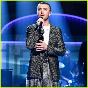 Sam Smith Performs 'Too Good at Goodbyes' & 'Pray' on 'SNL' (Videos)