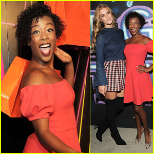Samira Wiley Joins Nina Agdal at American Express Event in NYC