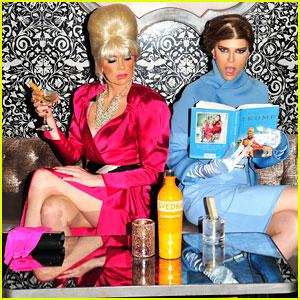 Sara & Erin Foster Channel Melania & Ivana Trump for Halloween with SVEDKA Vodka!