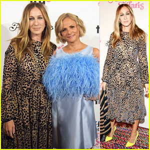 Sarah Jessica Parker Supports Amy Sedaris at New Comedy Series Premiere, 'At Home with Amy Sedaris'!