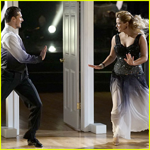 Sasha Pieterse Dedicates 'DWTS' Dance to Her Fiance (Video)