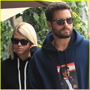Scott Disick & Sofia Richie Stay Close During Lunch Date in Beverly Hills