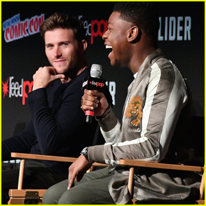 Scott Eastwood & John Boyega Talk 'Pacific Rim' at New York Comic Con