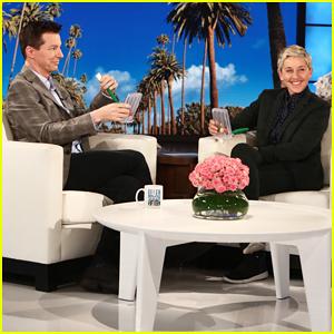 Sean Hayes Reveals His Health Scare on 'Ellen' - Watch Here!