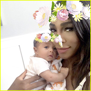 Serena Williams Shares Sweet New Selfie with Baby Alexis!