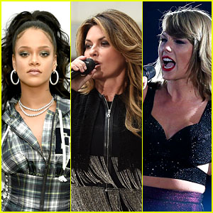 Shania Twain Would Want Rihanna & Taylor Swift to Join Her for Another 'Divas Live'!