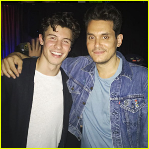Shawn Mendes & John Mayer Buddy Up at John's LA Concert