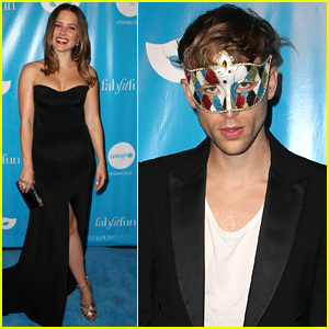 Sophia Bush Goes Glam for the UNICEF Masquerade Event