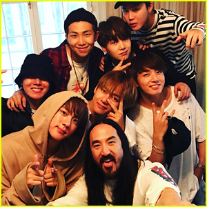 Steve Aoki Reveals New Details About Collaborations With BTS & Bella Thorne!