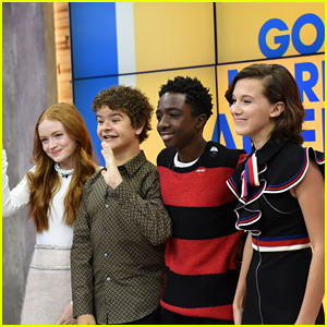 The 'Stranger Things' Kids Promote Season Two on 'Good Morning America' & 'Build Series'!