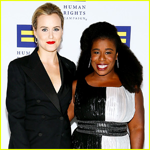 Uzo Aduba Awarded Ally for Equality Award at HRC Dinner (Video)