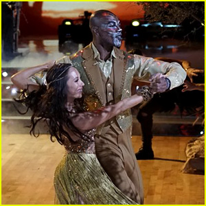Terrell Owens Does a 'Lion King' Dance on 'DWTS' Disney Night (Video)