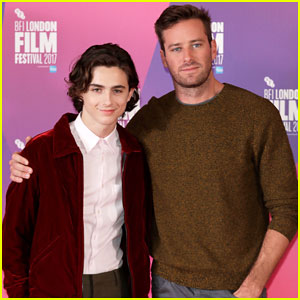 Timothee Chalamet & Armie Hammer Bring 'Call Me By Your Name' To BFI London Film Fest!