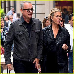 Tom Hanks & Rita Wilson Step Out With Nia Vardalos in NYC
