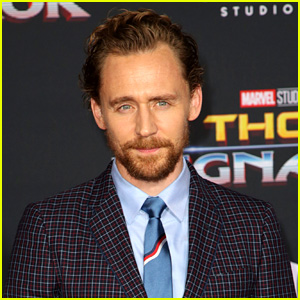 Tom Hiddleston Sports Scruffy Beard at 'Thor 3' Premiere