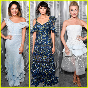 Vanessa Hudgens, Nina Dobrev, & Julianne Hough Team Up for Elle's Women in Hollywood Celebration