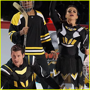 Victoria Arlen Becomes Hockey Player for 'DWTS' Dance (Video)