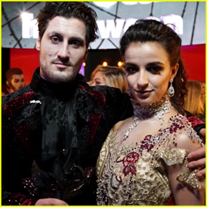 Victoria Arlen Kicks Off 'DWTS' Halloween Night with a Ghostly Waltz!