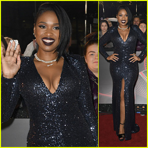 Jennifer Hudson Looks Stunning at Photo Call for 'The Voice UK' 2018!
