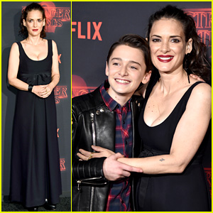 Winona Ryder Meets Up with Her On-Screen Son at 'Stranger Things' Premiere!