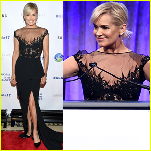 Yolanda Hadid Stuns at Global Lyme Alliance Gala in NYC