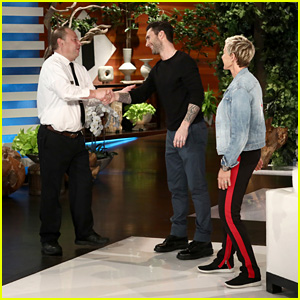 Ellen DeGeneres Makes Adam Levine Say Crazy Things in Hilarious Food Delivery Prank - Watch!