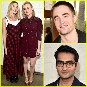 Robert Pattinson & Kumail Nanjiani Join Margot Robbie & Diane Kruger at Indie Roundtable Conversation!