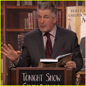 Alec Baldwin Does Dramatic Reading of Donald Trump Parody Book - Watch Now!