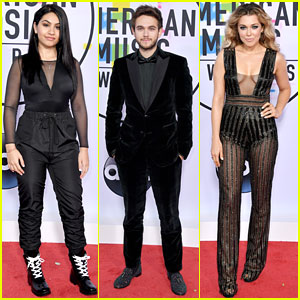 Alessia Cara, Zedd & Rachel Platten Wear All Black To American Music Awards 2017