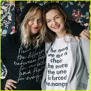 Amber Tamblyn Teams Up With 'My Sister' For T-Shirt Collection!