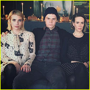 'American Horror Story' Cast Celebrates Thanksgiving Together!