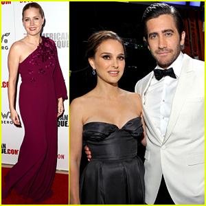 Amy Adams Honored by Friends Jake Gyllenhaal, Natalie Portman, & More!