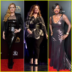 Amy Adams, Melissa McCarthy & Viola Davis Present at the Hollywood Film Awards 2017!