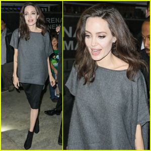 Angelina Jolie Steps Out For 'First They Killed My Father' Q&A Session