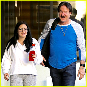 Ariel Winter is All Smiles While Spending the Day With Her Dad